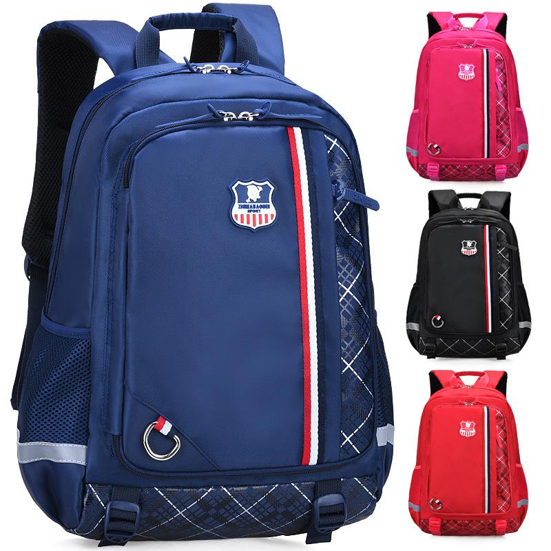 0a12f95d8f 2019 British Fashion Patchwork Plaid Girl Boy Children Primary School Bag  Bagpack Schoolbags Kids Teenagers Student Backpacks Kids Suitcases  Overnight Bags ...