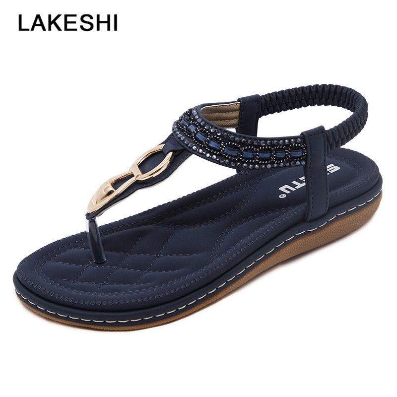 2019 New Women Sandals Bohemian Flat Sandals Women Shoes Fashion Flip Flops  Slip On Beach Shoes Casual Ladies Purple Shoes Ladies Footwear From  Beigekar e4632fc1f886