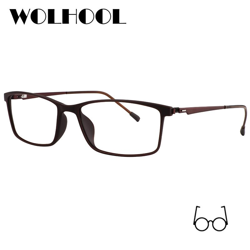 4d2158b13df7 2019 Rectangle Titanium Alloy Glasses Frame Men Myopia Eye Glass  Prescription Eyeglasses Screwless Optical Frames Eyewear WMT0014 From  Melontwo