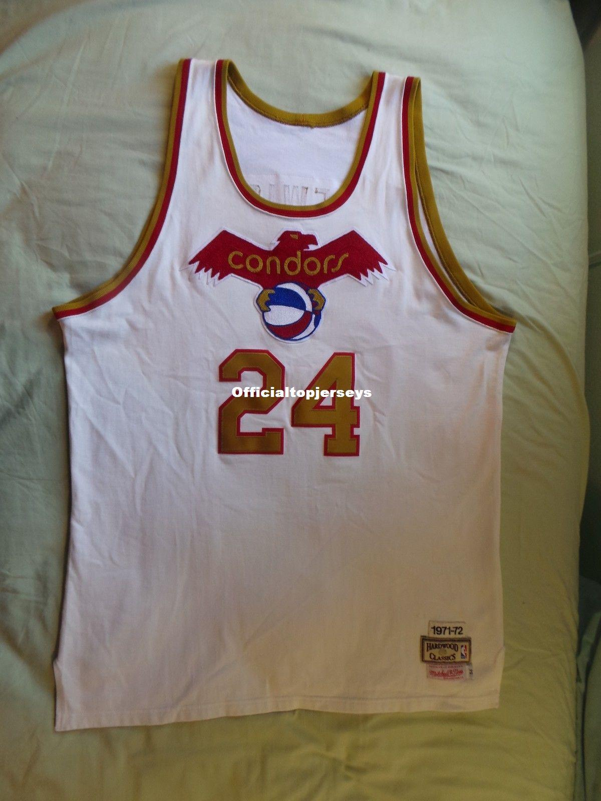 newest 3c5d9 b0171 Cheap Mitchell Ness M&N Pittsburgh Condors ABA Jersey #24 Mike Lewis USA  Mens Vest Size XS-6XL Stitched basketball Jerseys Ncaa