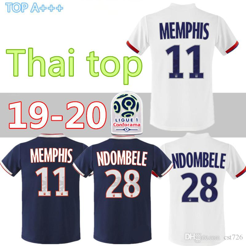 2019 Fekir Lyon De Foot Ol Traore Maillot 2020 Olympique Juninho Lyonnais Aouar 20 Dembele Memphis 19 HD2IE9YW