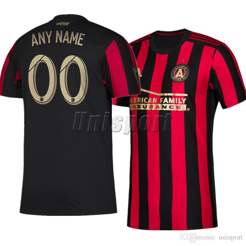 newest edbc6 f7b54 2019 Atlanta United Home Soccer Jerseys Martinez Barco Villalba Futbol  Camisa Football Camiseta Shirt Kit Maillot