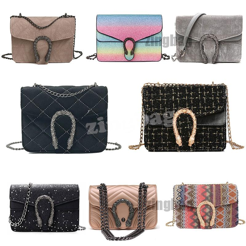 Top Luxury Designer Crossbody Bags Fashion Women Shoulder Bag Chain Messenger Bag Leather Ladies Handbags Totes Purses Multiple Styles