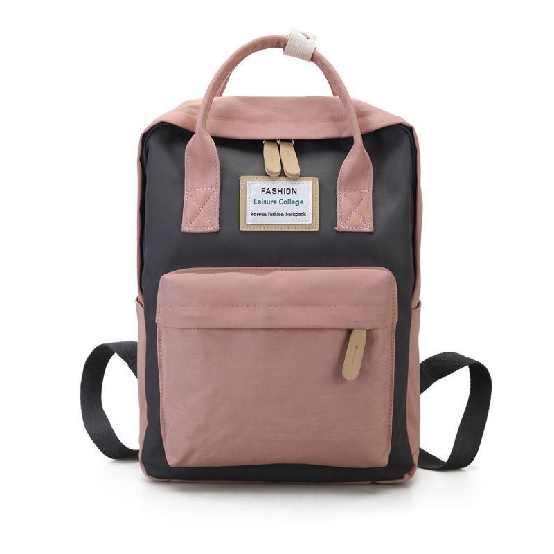 comprar online 36499 2014f Buena calidad Mochila de lona Mujeres Mochila de gran capacidad para  mochilas para adolescentes Mango Mochilas de color rosa Mochila impermeable