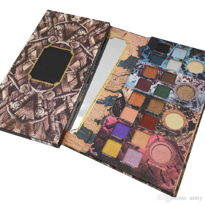 Brand GOT Game Of Thrones Limited Edition Eye Shadow 20 Color Eyeshadow Top Quality Cosmetics Eyeshadow Palette In Stock