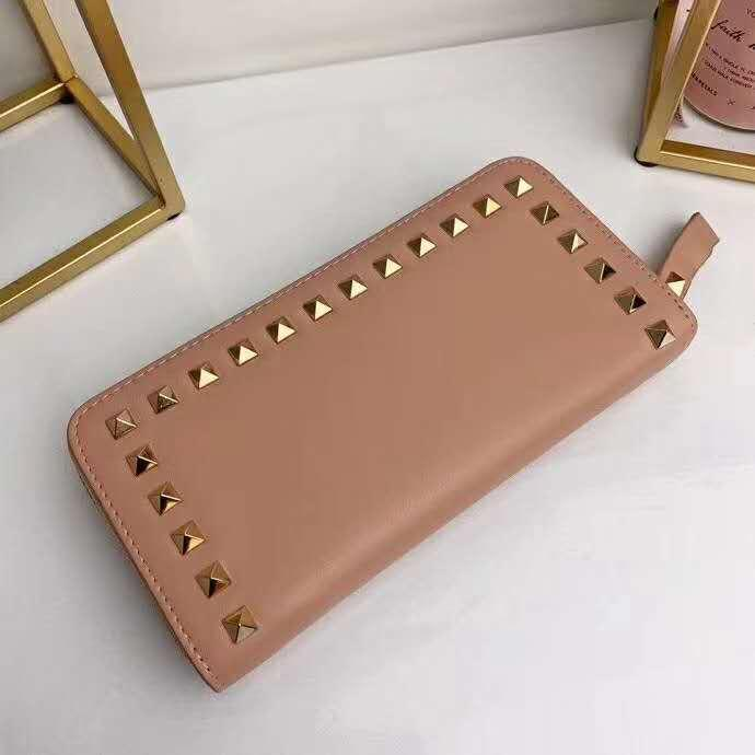 ac4db5b61d95 NIKA Wallet FOR WOMEN Making of Classic Rivet Single-pull Soft ...