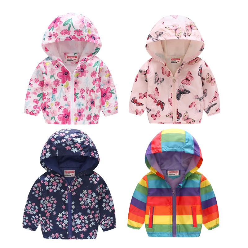 4608f4a10 2019 New Children Spring Jacket Girls Fashion Cute Out Wear Clothes ...