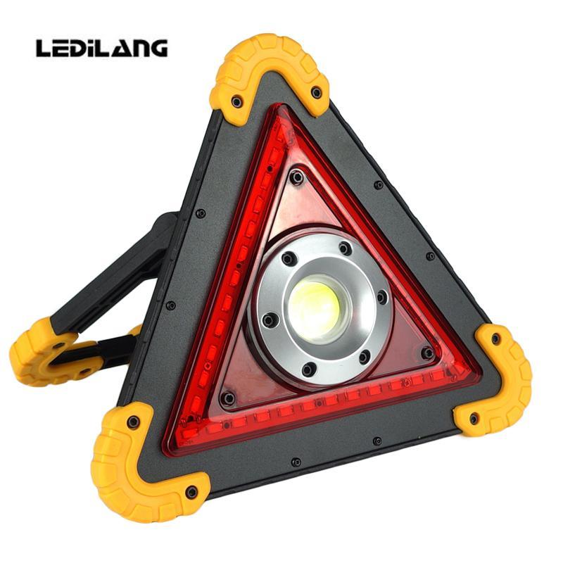 Camping Pour CobVoyant Travail 18650 Projecteur Rouge Portable Led La Chasse Rechargeable De Poche Lampe Lumière SVpqUGzM