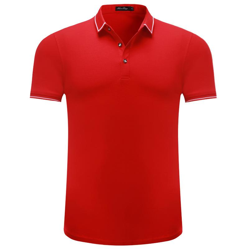 2019 Summer Men S And Women S Pure Cotton Polo Shirt Custom Short