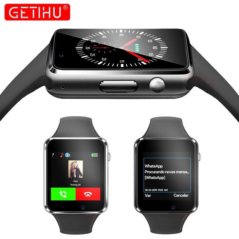 448af337603 Compre A1 Smart Watch Smartwatch Relógio De Pulso Relógio Do Esporte Do Bluetooth  Sim Tf Telefone Câmera De Pulso Relógio Para Apple Iphone Android Samsung  ...