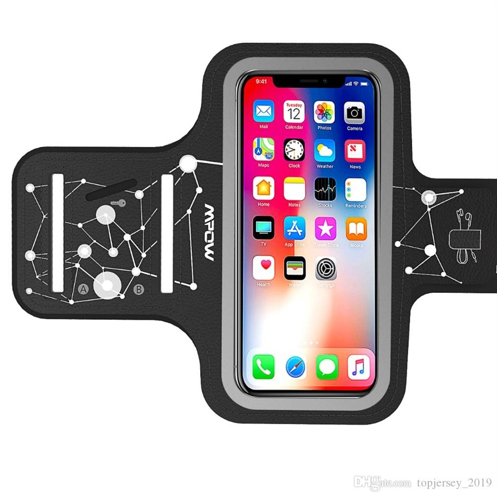 info for 82f1d ed3d4 Mpow Sports Running Armband Belt Gym Phone Bag Case Arm Band with Card Key  Pockets for iPhone X 8 7 6 6s for Samsung S9 S8 #214464