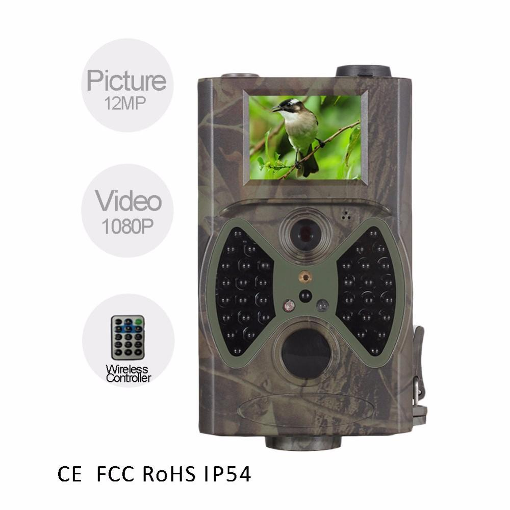 Suntek 12MP Photo traps Trail camera HC300A with 36pcs IR LED Night vision Time Lapse Wild Cameras for home surveilance hunting