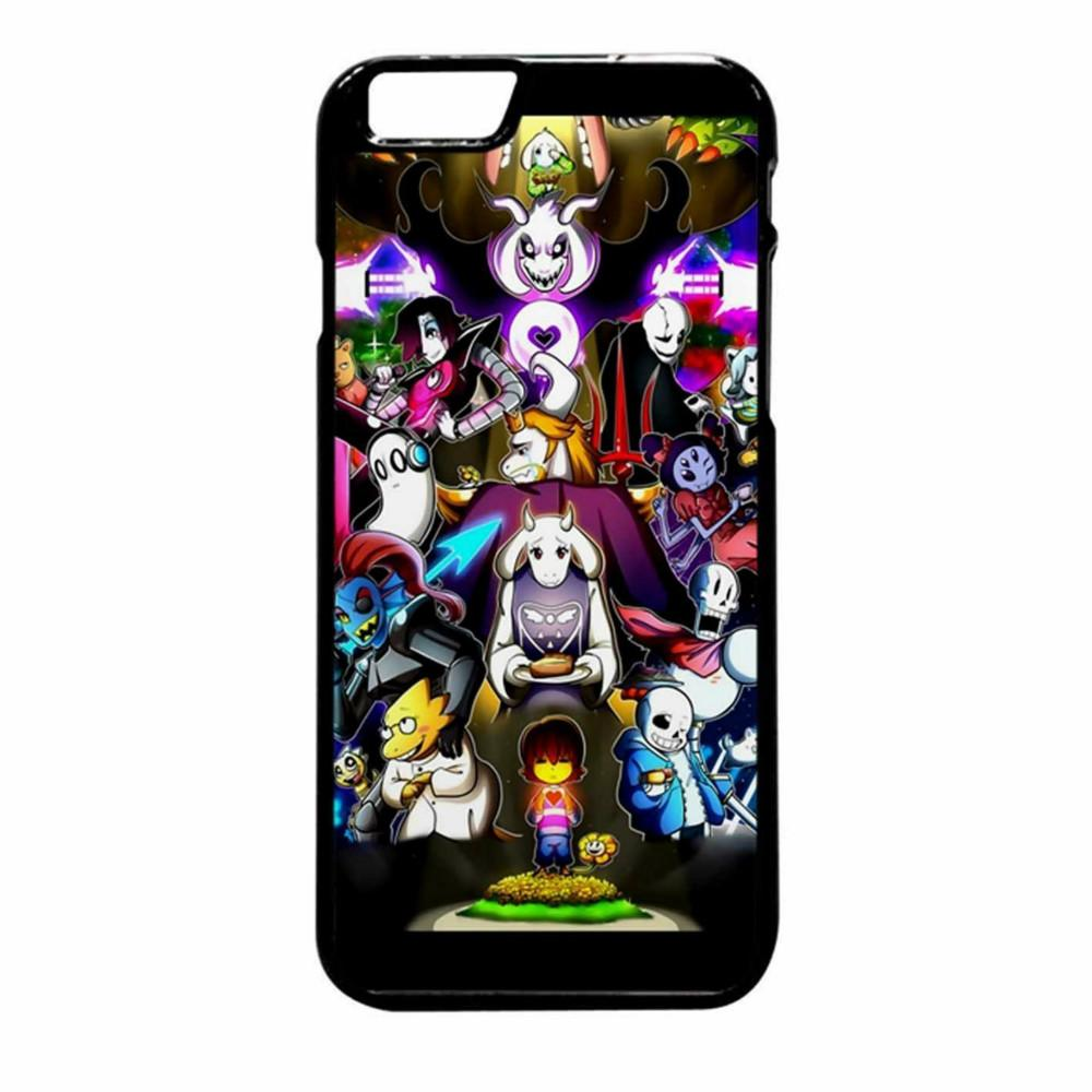 Undertale Wallpaper Phone Case For Iphone 5c 5s 6s 6plus 6splus 7 7plus Samsung Galaxy S5 S6 S6ep S7 S7ep Durable Cell Phone Cases Rhinestone Cell Phone ...