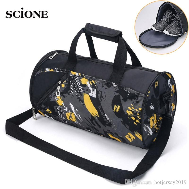 c5047f532c 2019 Sports Gym Bag Fitness For Women Men Bags Yoga Nylon Travel Training  Ultralight Duffle Shoes Small Sac De Sport 2019 Tas XA6WA #29657 From ...