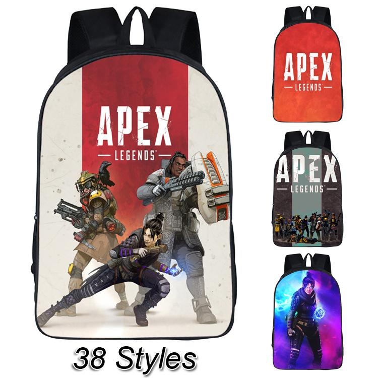 2477eef76dae Apex Legends Backpacks 38 Styles 16'' 3D Printed Cartoon Polyester Backpack  Big Kids Student school bag bookbag designer bags SS50