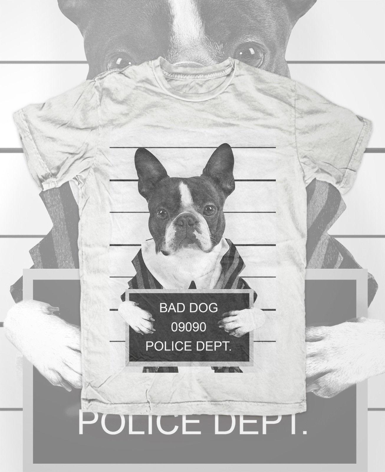 Französische Bulldogge Mugshot T Shirt Weiss Hund Dog French Bulldog  Frenchi Mens Pride Dark T Shirt Daily Tee Shirts Coolest Shirt From  Qqq1510488977, ... b2e5cdca06