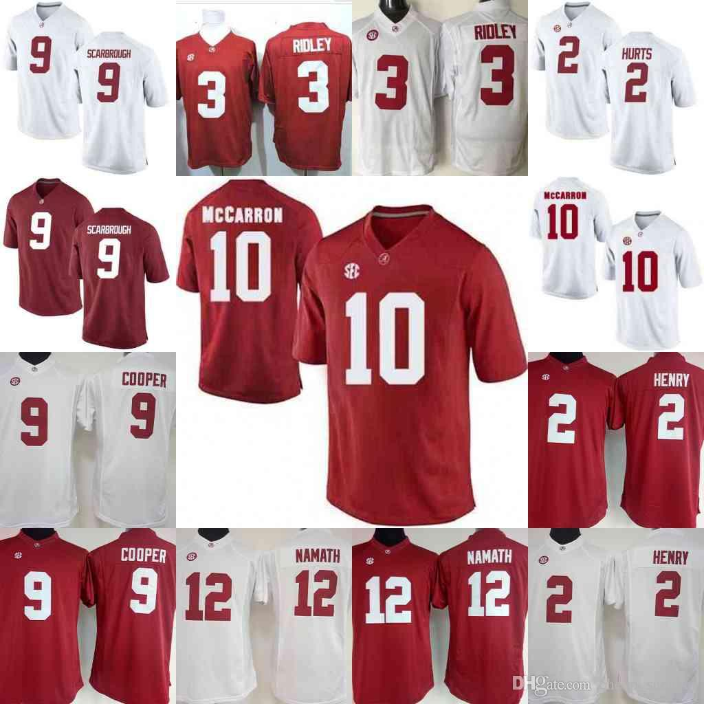 NCAA Womens Alabama Crimson Tide 2 Derrick Henry 9 Bo Scarbrough 9 ... 9c51be101