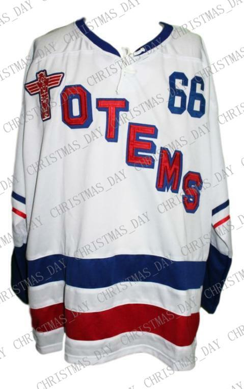Seattle White Christmas 2019 2019 Custom Seattle Totems Retro Hockey Jersey 1966 New White