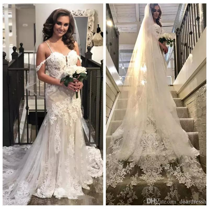 Vestidos de novia 2019 para delgadas