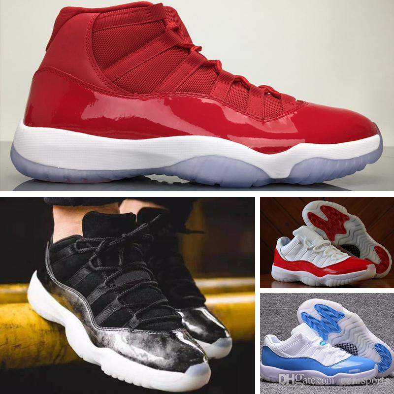 cheap for discount 90103 5a3ba Nike Air Jordan 11 Retro Space Jam 2018 11 Prom Night Cap e vestido de  ginástica Red Chicago Bred Midnight Navy VITÓRIA COMO 82 UNC Space Jam 45  ...