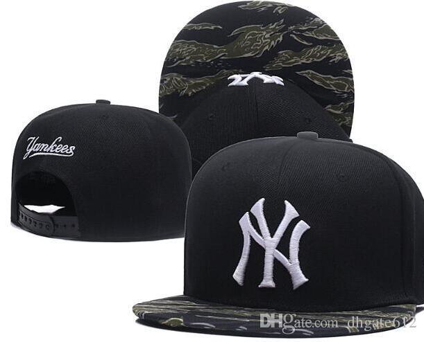 f9366134c99 2019 New York Cap Hat Men Snapbacks Cool Women Sport Adjustable Caps Hats  All Team Snapbacks Accept Drop Ship 01 Custom Trucker Hats Compton Cap From  ...
