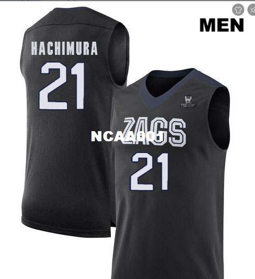 0630419048d 2019 Men Gonzaga Bulldogs Rui Hachimura #21 College Real Embroidery Jersey  Size S 4XL Or Custom Any Name Or Number Jersey From Ncaa001, $15.95 |  DHgate.Com