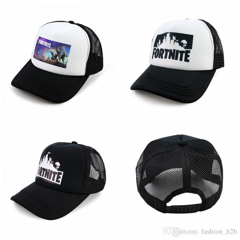 deb2cda1 Fortnite Battle Royale Baseball Caps Cowboy Trucker Snapbacks ...