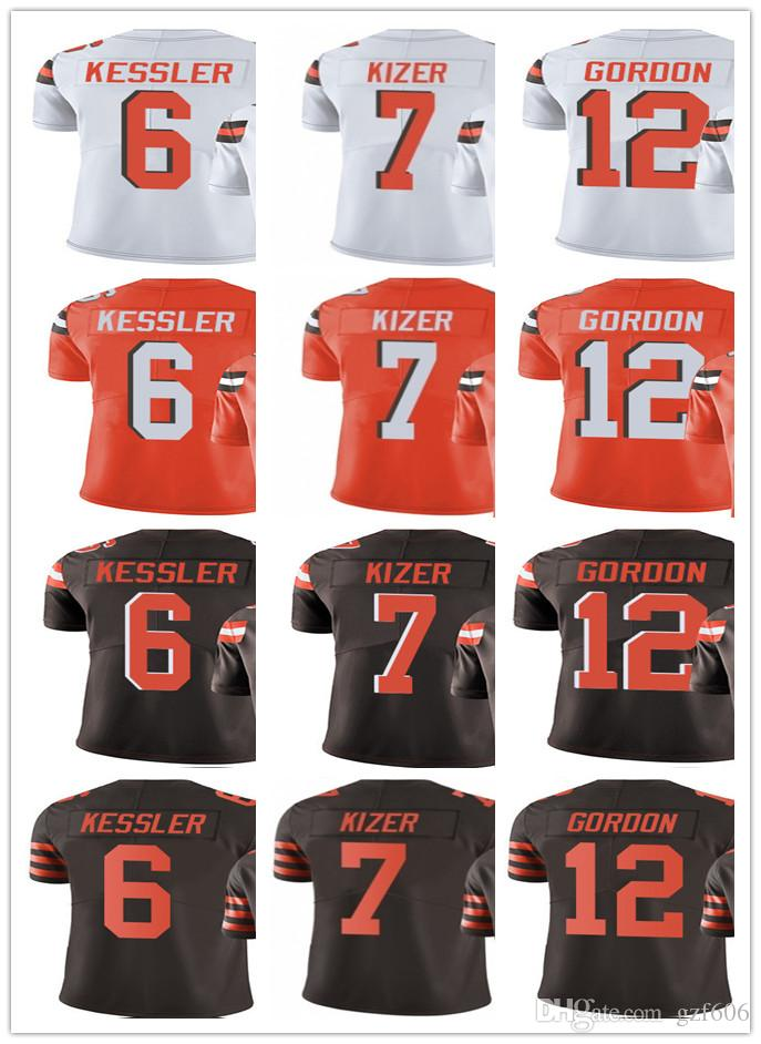 timeless design d10e9 39c78 Cleveland Men's Women Youth Browns Jersey #6 Cody Kessler 7 DeShone Kizer 7  DeShone Kizer Jerseys