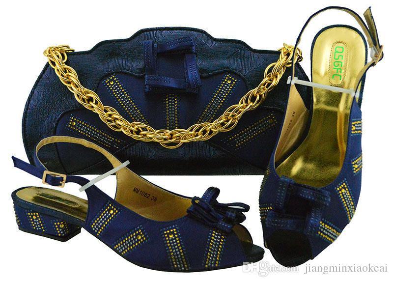 56611f638d2da2 Acheter Italie Chaussure Et Sac !! Chaussure Africaine Et Sac Mis Chaussure  Italienne Talon Bas Avec Sac Correspondant Meilleures Ventes Dames  Chaussures ...