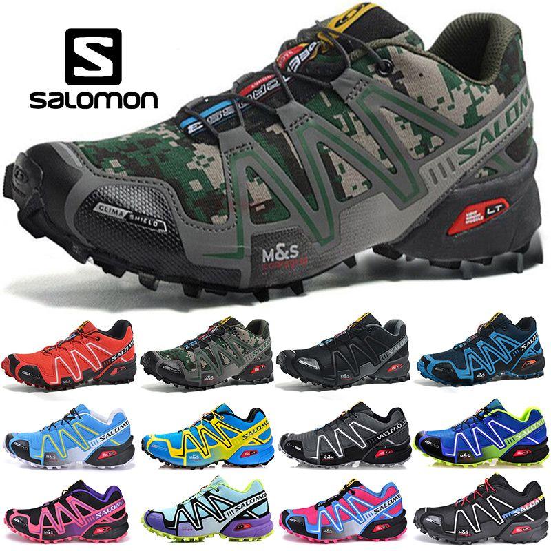 Free Shipping New Salomon Speedcross 3 Men and Women