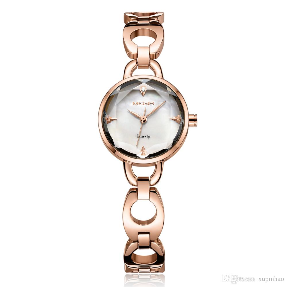 c333b2eee6bd Compre Cinturón De Acero Marca Reloj Para Mujer Reloj Deportivo Circular  Reloj Multifuncional Relojes De Pulsera De Cuarzo Reloj De Moda Reloj De  Pulsera.
