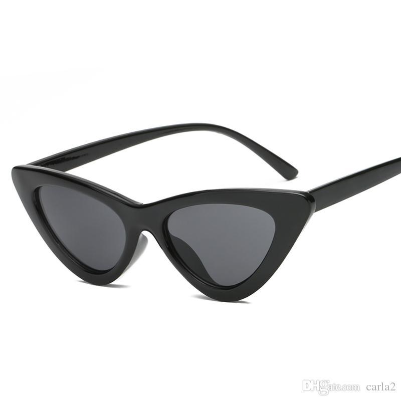 Compre 2018 Mulheres Do Vintage Óculos De Sol Cat Eye Eyewear Designer De Marca  Óculos De Sol Retro Feminino Oculos De Sol Uv400 Óculos De Sol Moda Atacado  ... fb06e9fdb6