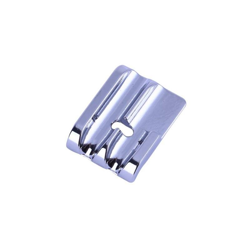 2 Pcs/Set sewing machine special piping presser foot pressure rope foot Household Sewing Machine Presser Matel Home Parts