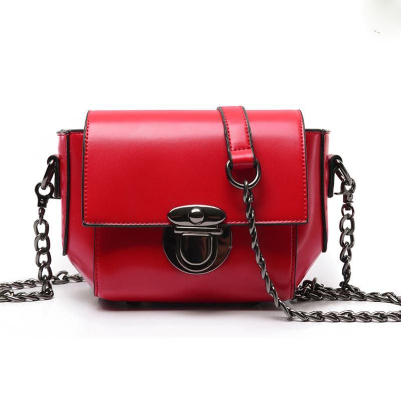 Chain Women Messenger Bags Design Women Bag Ladies Women's Handbag Bosas Cross-body Black/gray/green Bag High Quality Bolsas
