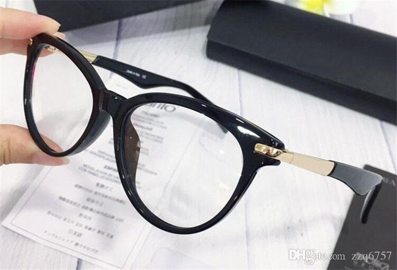 0b36b505e2 2019 New Fashion Designer Optical Prescription Glasses 222 Cat Eye Frame  Popular Style Top Quality Selling HD Clear Lens From Zzq6757
