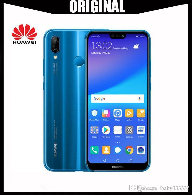 Original HuaWei Nova 3e P20 Lite 4G LTE Cell Phone Android 8 0 5 85  2280X1080 4GB RAM 128GB ROM Face ID 24 0MP FM International Firmware