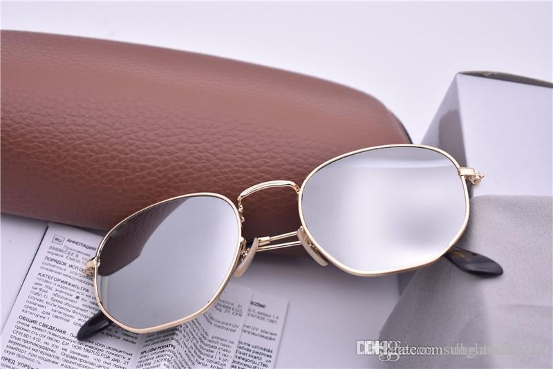 Compre Nova Marca Sunglass Esand Moda Americana Coringa Para As Mulheres  3548 Óculos De Sol Europeus Moda Dazzle Cor Óculos De Sol Com Caixa De Caso  De ... 6bf9564d71