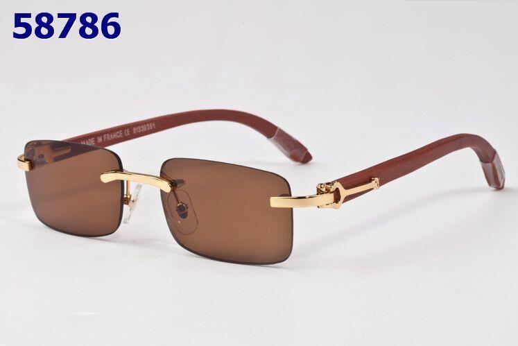 e04fbc9ccb6 New 2019 Wood Sunglasses Men Wooden Buffalo Horn Sunglasses Women Brand  Designer Mirror Rimless Bamboo Sun Glasses Oculos De Sol Masculino Suncloud  ...