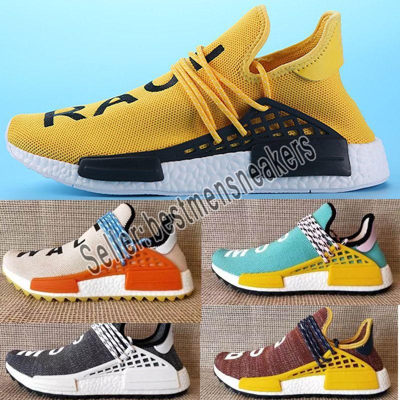 8bdc9b46c39 2019 2019 NMD Human Race Mens Running Shoes With Box Pharrell ...