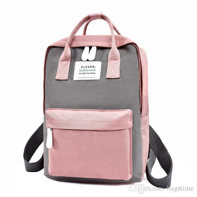 e7c151cc6b7e Student Backpack Girl s School Bags Leisure Travel Bag New Student Backpack  High School Student Bags Out Backpack