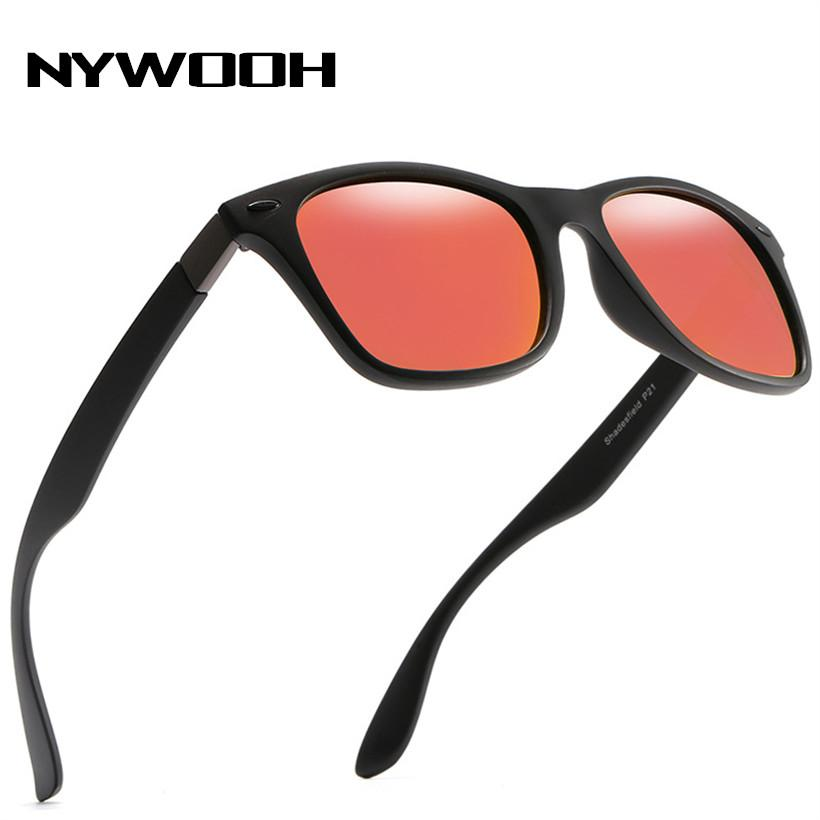 2ec9cdfa421 NYWOOH Polarized Sunglasses Men Women Brand Designer Square Driving Sun  Glasses Male Goggle UV400 Polarized Sunglasses Sunglasses For Men From  Lotusflowern