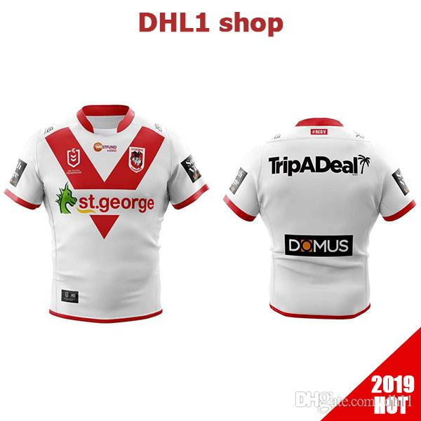 571cb24b0 2019 2020 ST GEORGE ILLAWARRA DRAGONS HOME rugby Jerseys NRL National  League shirt nrl Jersey St George Illawarra Dragons shirts s-3xl