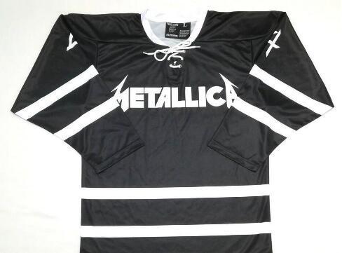 2019 Customize Vintage METALLICA 4 HORSEMEN Pro Style Hockey Jersey