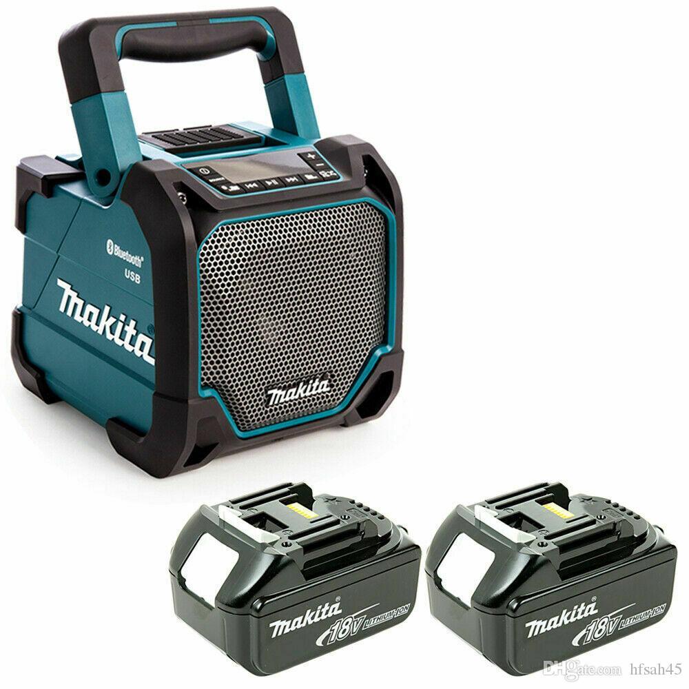 2020 Makita Dmr202 10 8 18v Cxt Lxt Jobsite Bluetooth