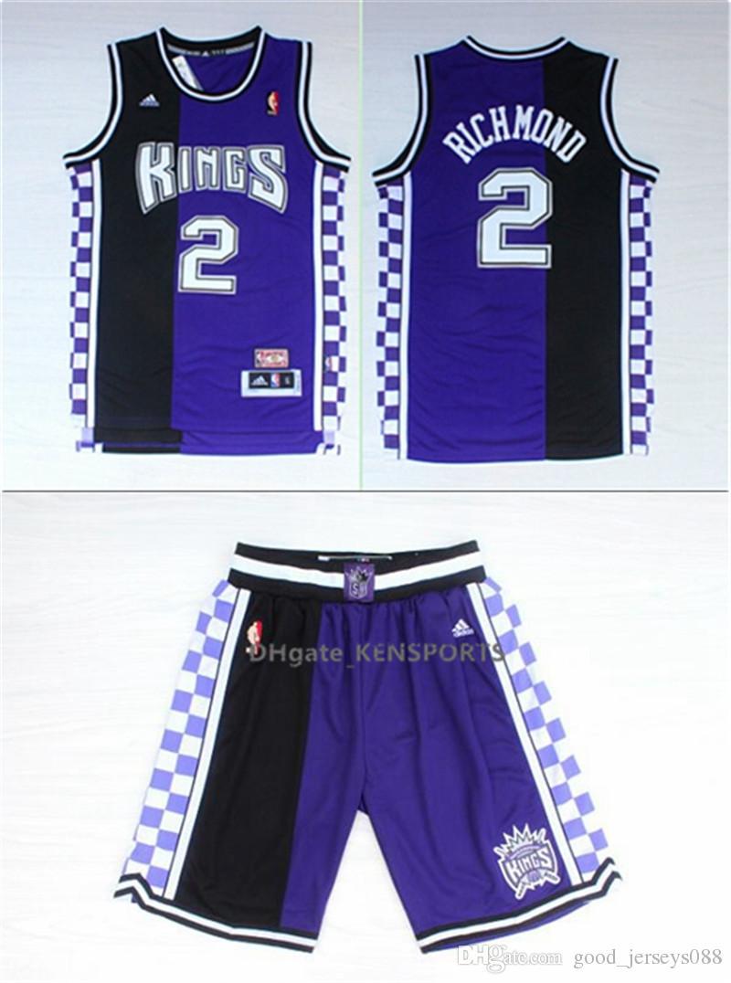 buy online 908d2 7d4fc Men Sacramento Jersey King Marvin Bagley III Basketball Shorts De Aaron Fox  Breathable Sweatpants Team Classic Sportswear Wear Jerseys