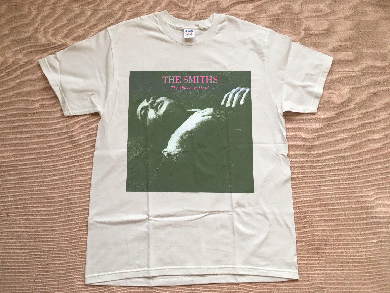 e434782f52ef THE SMITHS Concert T Shirt 1986 Retro Vintage Morrissey Queen Is Dead  Reprint Men Women Unisex Fashion Tshirt Fun Tee Shirts Silly T Shirts From  ...