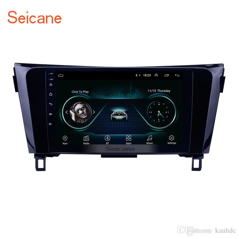 All-in-one Android 8 1 Touch Screen 9 Inch Car Multimedia Player for 2014  Nissan QashQai with Bluetooth GPS Navi Mirror Link support OBD2