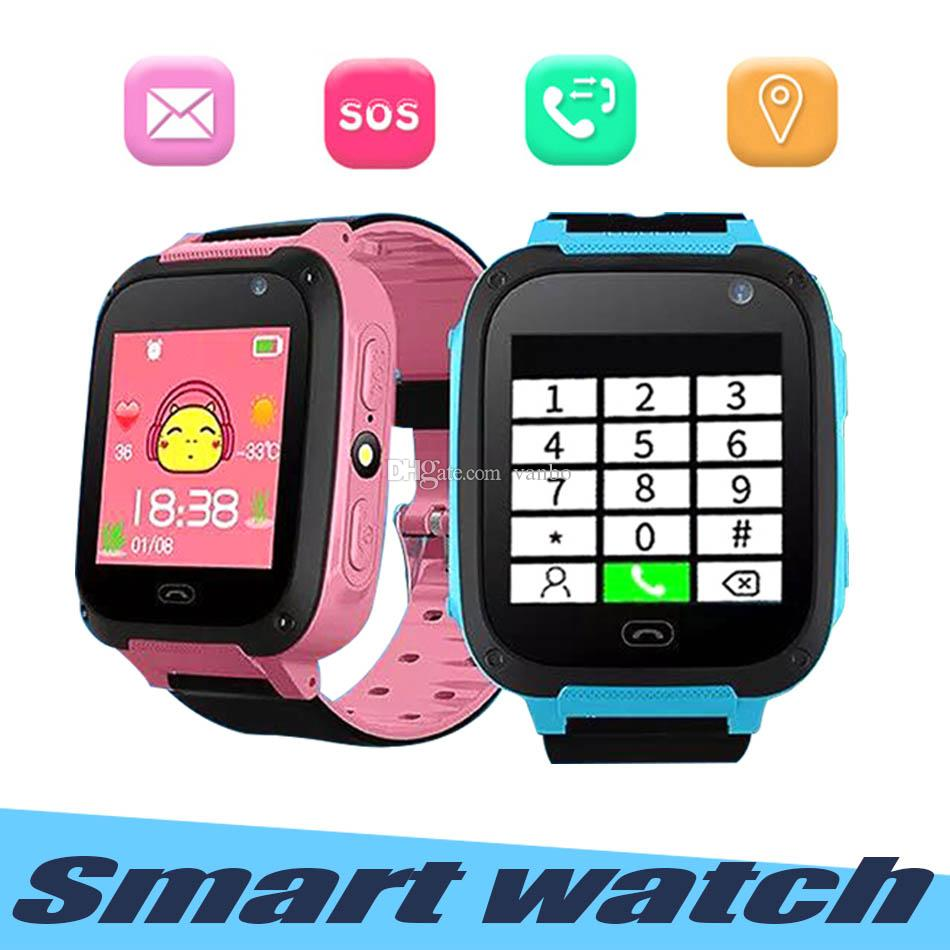 Q9 Smart Watch For Kids Watch With Remote Camera Anti-lost Children  Smartwatch LBS Tracker Wrist Watches SOS Call For Android IOS