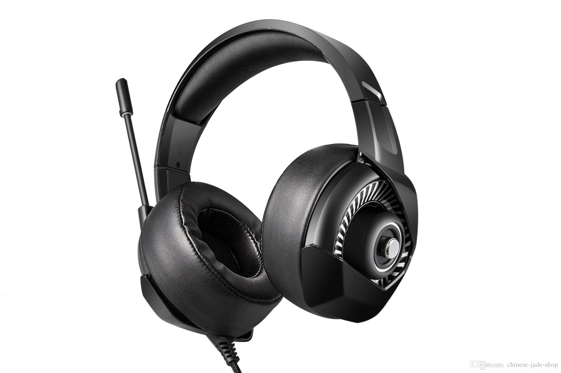e4244696c29 NIKUMA K6 Stereo Gaming Headset For PS4, PC, Xbox One Controller, Noise  Cancelling Over Ear Headphones With Mic, LED Light, Bass Headphone Amp  Headphone ...