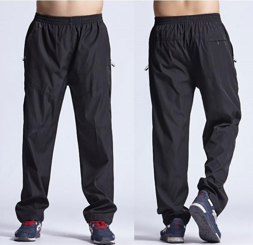 Working Spring Outside Herren Freizeithose Schnell trocknend Herrenhose Jogginghose Elastischer Jogger Trainingsanzug Lose Herrenhose MX190717